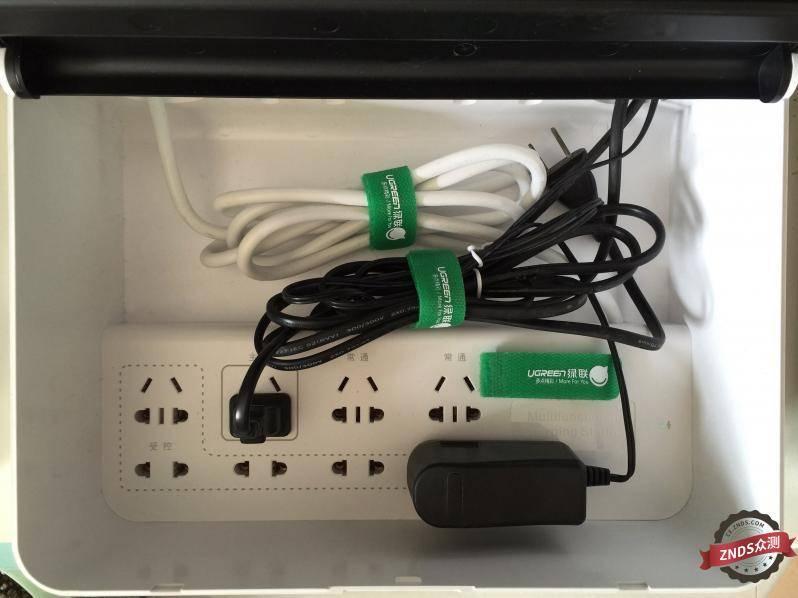 绿联插座收纳整理功能