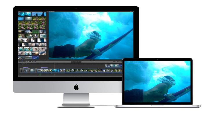 iMac作为显示器,设置MacBook扩展屏