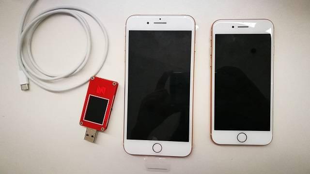 iPhone8充电测试清单