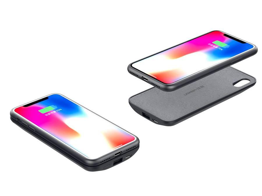 iPhone x无线快充移动电源