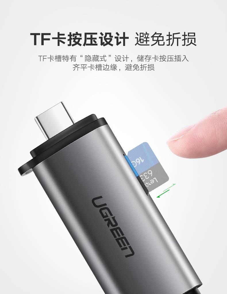 绿联USB-C读卡器