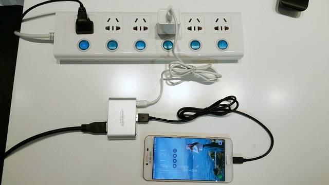 手机投屏转换器设置教程