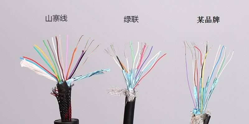 绿联HDMI线拆解评测