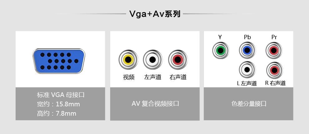 绿联VGA系列