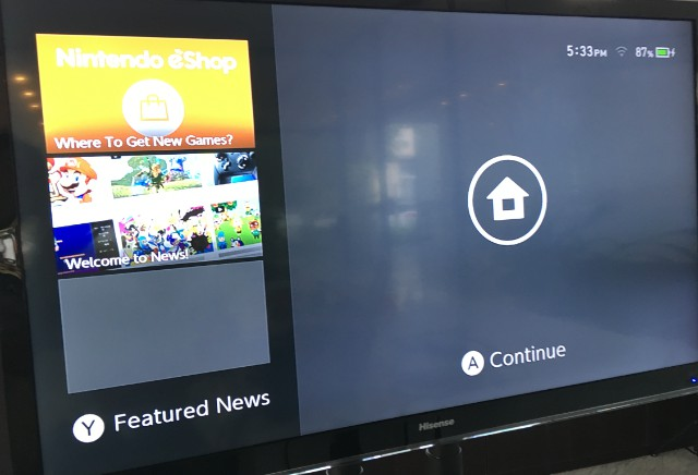 Switch连接电视投屏教程