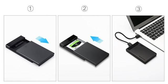 硬盘盒的使用方法