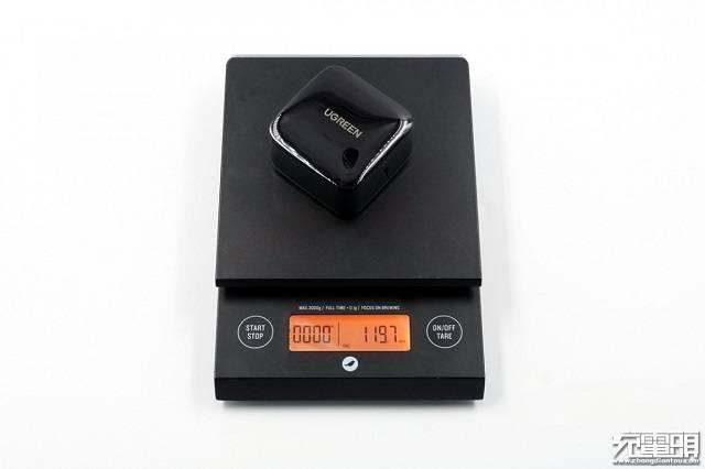 绿联65W氮化镓充电器重量