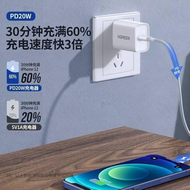 绿联MFi认证PD20W充电套装上线啦!