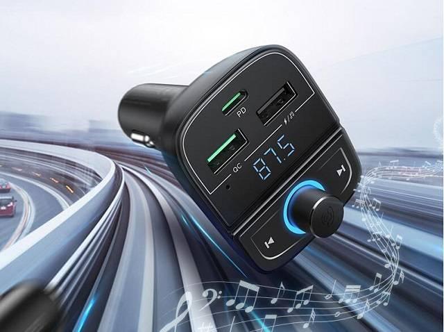 绿联车载蓝牙5.0充电器使用说明