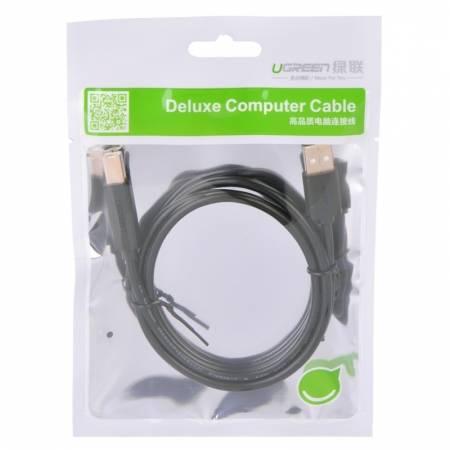 绿联 USB打印线 镀金头方口线