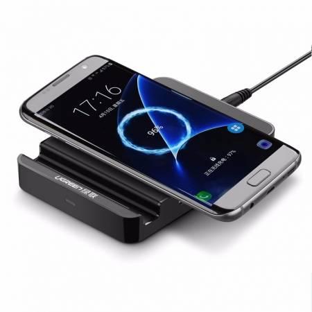 绿联QI无线充电器