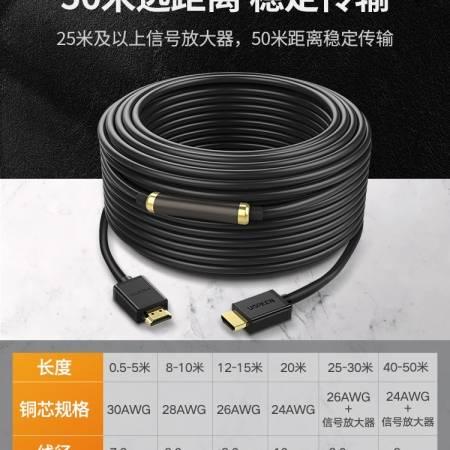 绿联hd104 HDMI高清线工程装修线