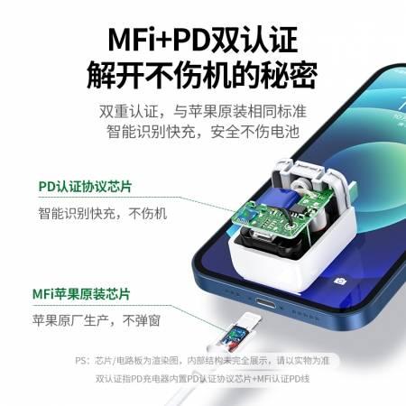 绿联小金刚PD20W充电头